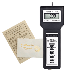 Recertification - Force Gauge - Sper Scientific Direct