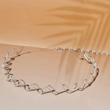 Load image into Gallery viewer, Wire Tattoo Choker Sterling Silver