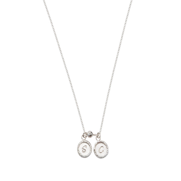 Personalised Double Initials Necklace