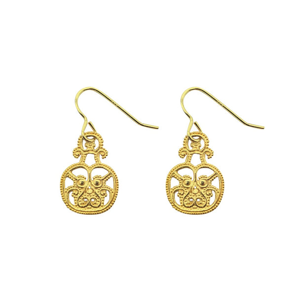 Small Filigree Earrings