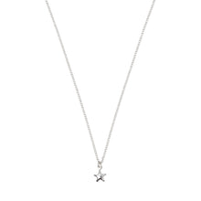 Load image into Gallery viewer, Tiny Star Necklace Sterling Silver