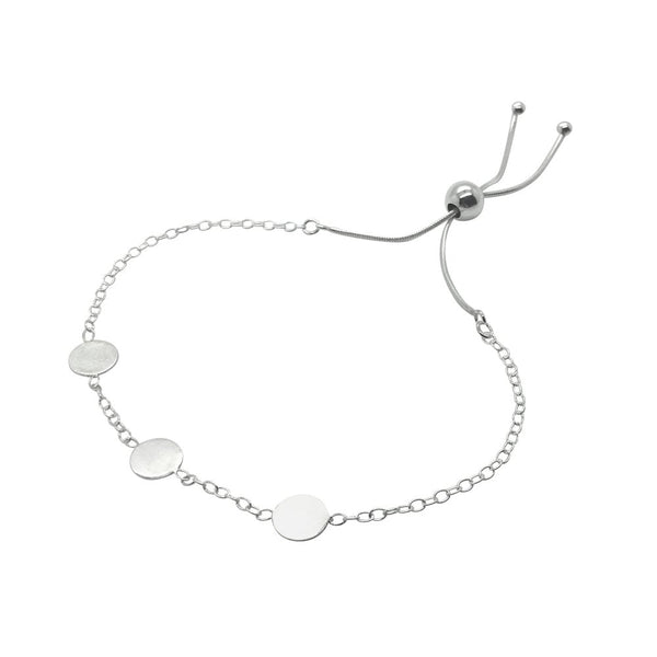 Basic Dot Bracelet Sterling Silver