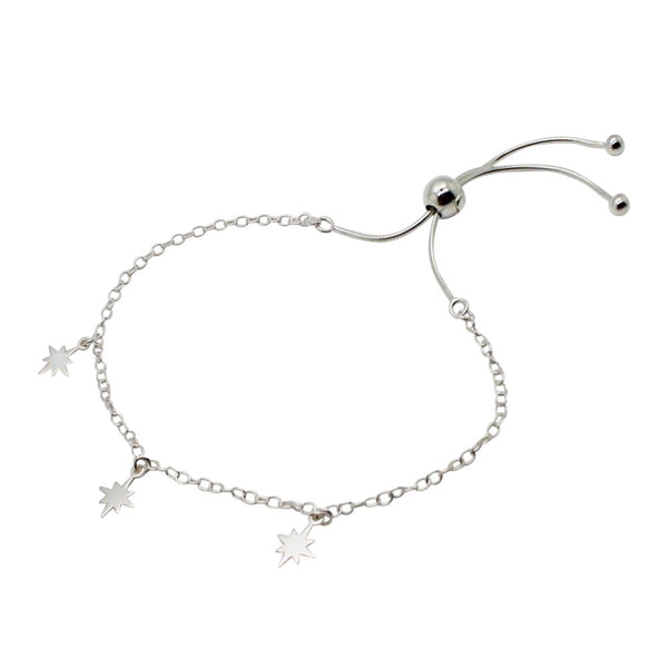 Fallen Stars Adjustable Bracelet Sterling Silver