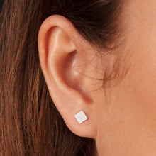 Load image into Gallery viewer, Diamond Stud Earrings and Ear Jackets Sterling Silver