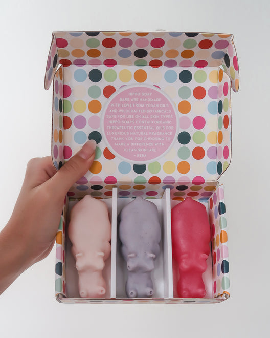 Hippo Soap Gift Boxes