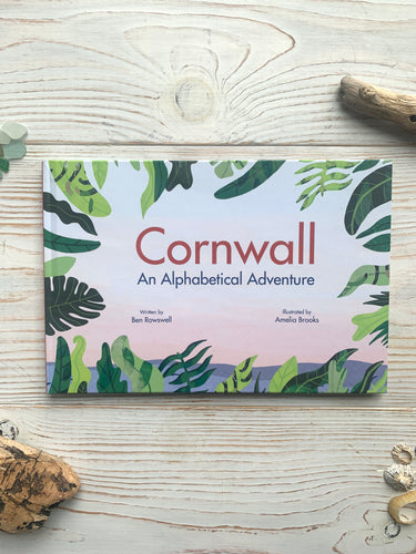 Cornwall An Alphabetical Adventure hardback book