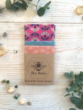 Load image into Gallery viewer, Eco Friendly Beeswax Wraps