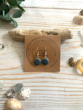 Load image into Gallery viewer, drop earrings made with Readymoney sand