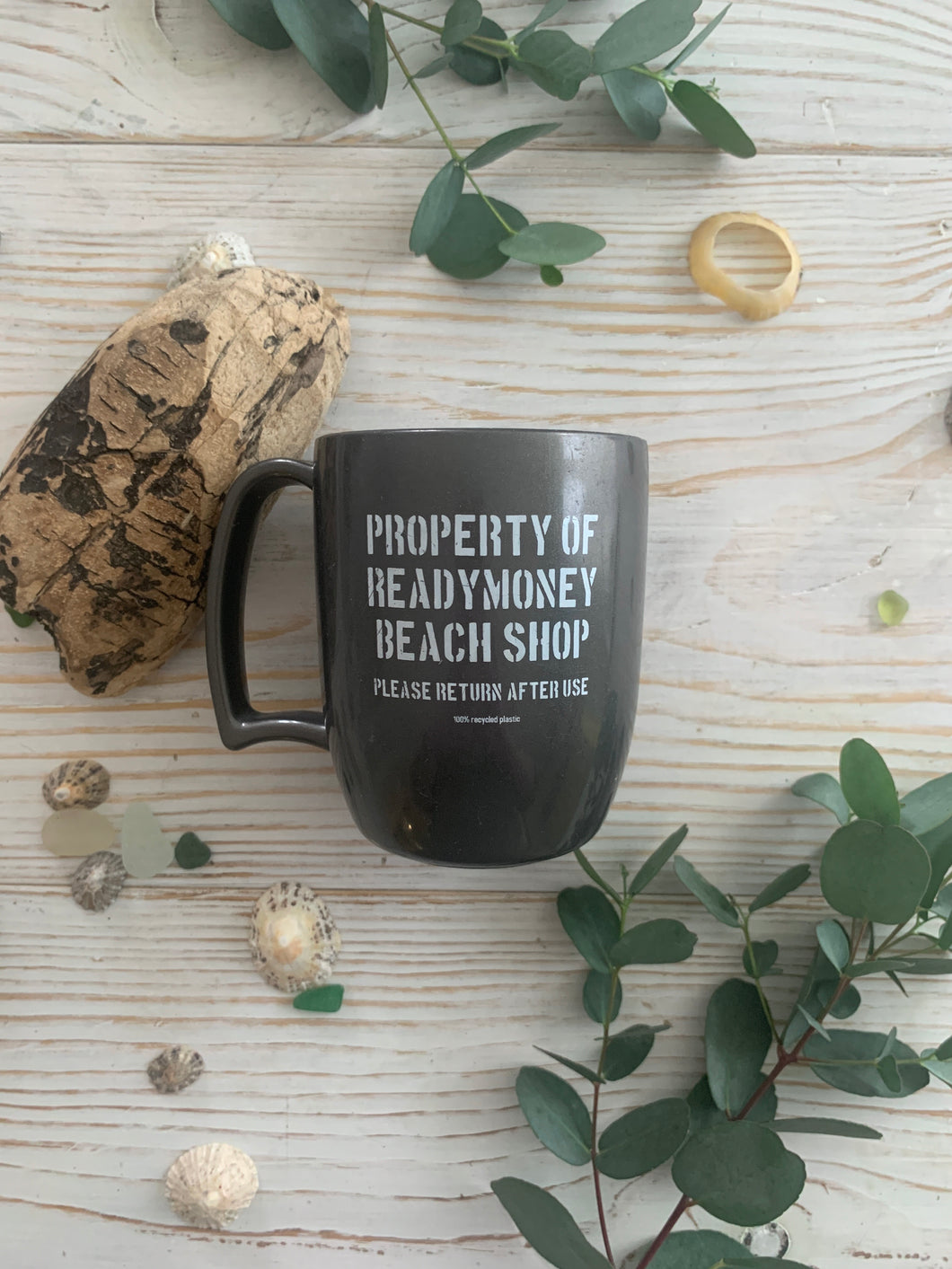 Property of Readymoney Beach Shop mug