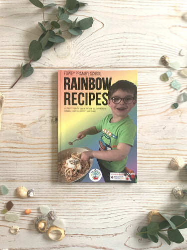 Fowey primary school charity recipe book