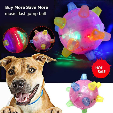 Dog LED Jumping Ball