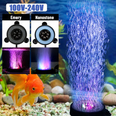 Underwater RGB Fish Tank Air Curtain Bubble Light