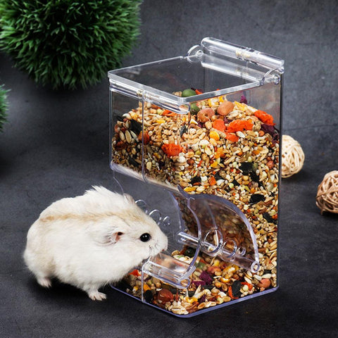 Hamster Rabbit Food Dispenser