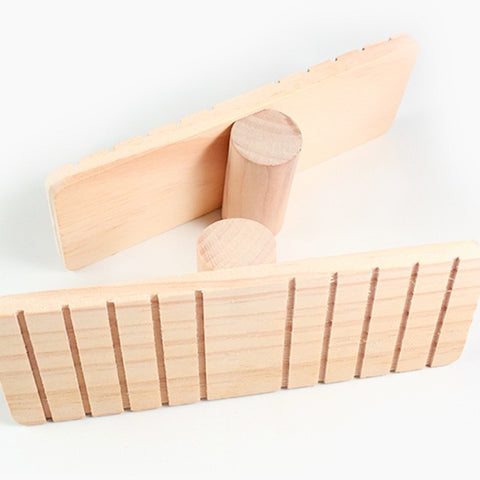 Hamster Wooden Seesaw