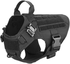 Tactical Dog Harness And Leash Set