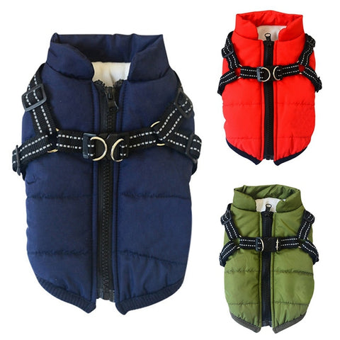 Harness Coat Warm Cotton Jacket