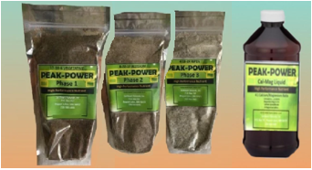 Peak Power nutrients industrial hemp/medicinal craft grow pack, outdoor, indoor, aero, hydro/SAVE with this sample size package!