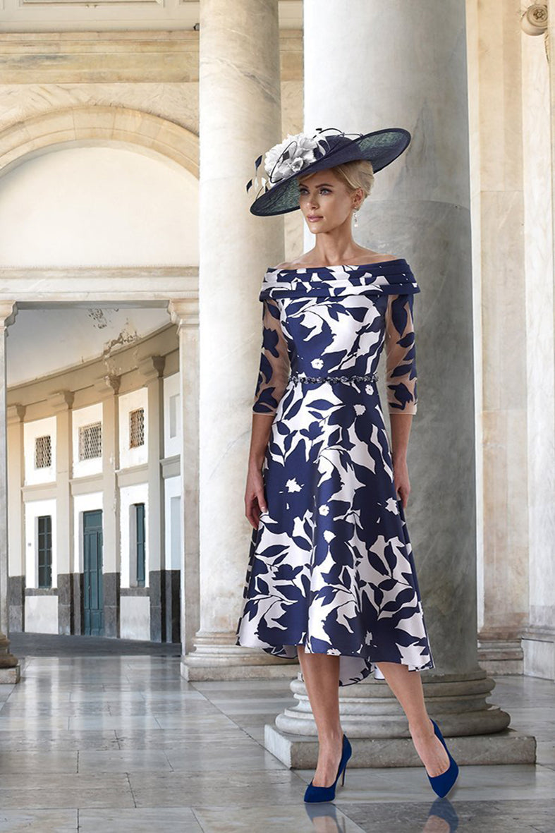 Irresistible Navy / Silver dress - style IR4053SS20 mother of the bride outfit