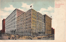 Load image into Gallery viewer, Marshall Field Building, Chicago, Illinois, very early postcard, unused