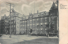 Load image into Gallery viewer, St. Michael's Hospital, Newark, New Jersey, early postcard, unused