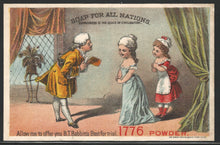 Load image into Gallery viewer, B.T. Babbit's 1776 Soap Powder, 19th Century Trade Card