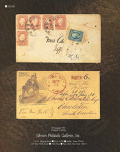 Load image into Gallery viewer, U.S. and Confederate States Postal History, Shreves Philatelic Galleries, New York, Jan. 20, 1996