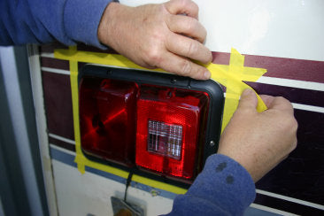 Repairing lights on and RV Trailer
