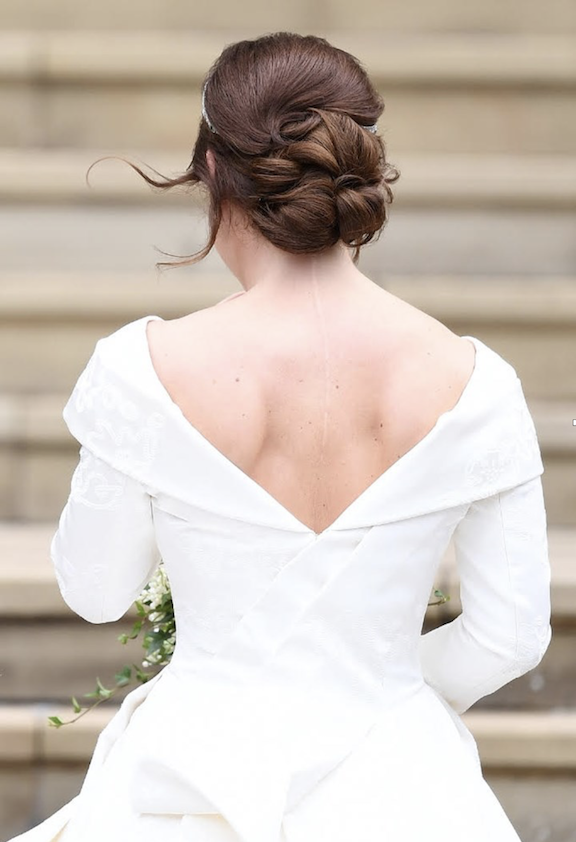 Princess Eugenie's Back