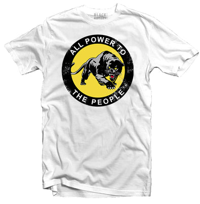 Power To The People White Tee