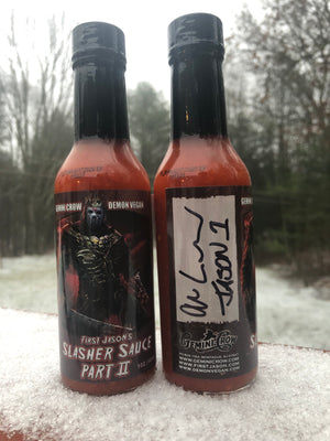 V - FIRST JASON's SLASHER SAUCE : PART II (Autographed - LOW STOCK!!)