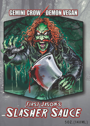 V - FIRST JASON's SLASHER SAUCE (Autographed)