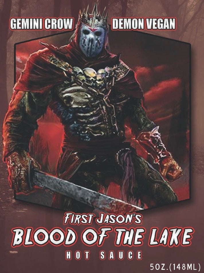 FIRST JASON's 'BLOOD OF THE LAKE' HOT SAUCE