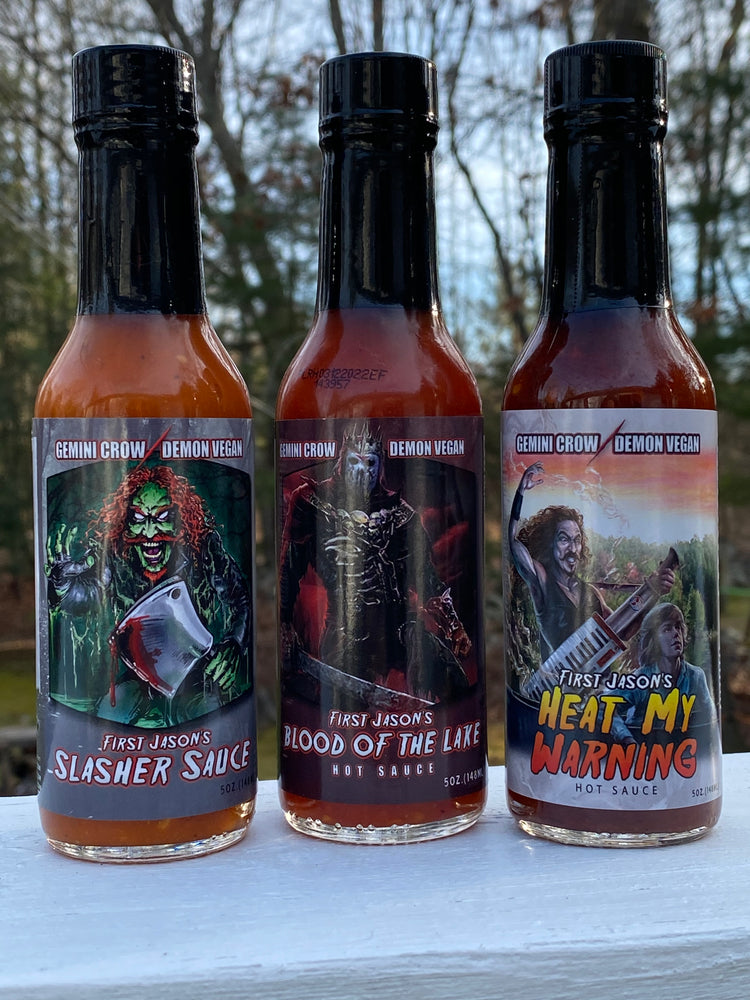 THE 'FIRST JASON' HOT SAUCE COLLECTION