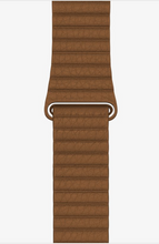 Load image into Gallery viewer, Brown Leather Loop for Apple watch.