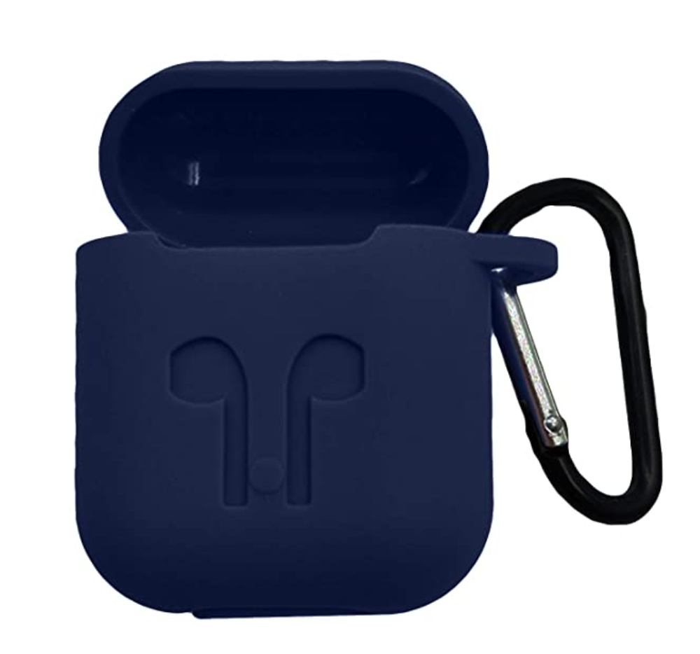 Hijarvis Silicone Fit Cover Case Compatible with Airpods 1 | Airpods 2 | Airpods Pro- Blue