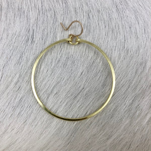 Plain Hoop Earrings (Multiple sizes!)