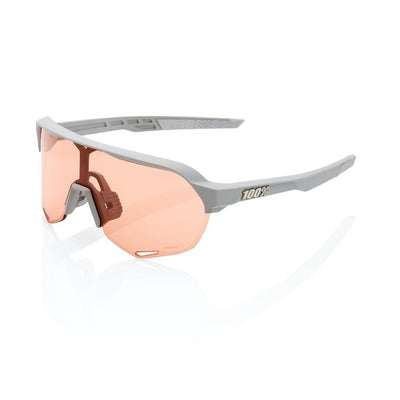 100% S2 - Soft Tact Stone Grey - HiPER Coral Lens