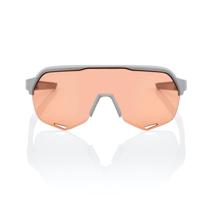 100% S2 Soft Tact Stone Grey - HiPER Coral Lens