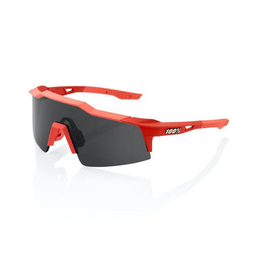 100% Speedcraft SL - Soft Tact Coral - Smoke Lens
