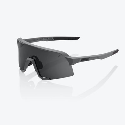 100% S3 - Soft Tact Grey - Smoke Lens