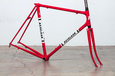 Ketelaar Frame Works 2019 Noosa Strada Bianche Build - 56cm - Red & White