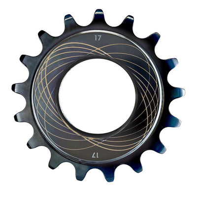 Bespoke Chainrings Track Sprocket - Black Chrome