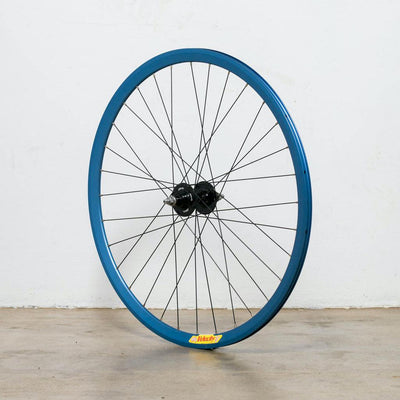NOS 130mm Blue Velocity Deep V Track/Fixie Wheel - Rear
