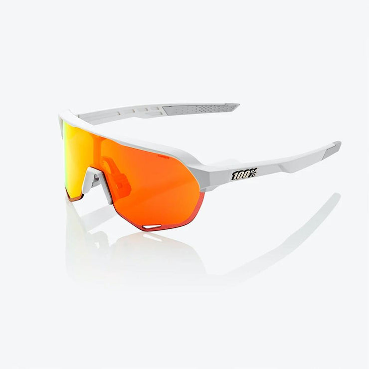 100% S2 - Soft Tact Off White - HiPer Red Lens
