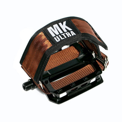 MKULTRA StraitJacket Pedal Straps x SGB - Brownie