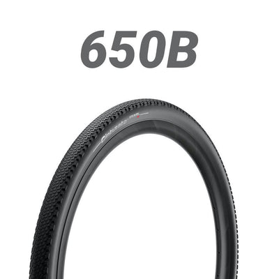"Pirelli Cinturato Gravel Hard Pack - Black - (27.5""/650B) 650 x 45C"