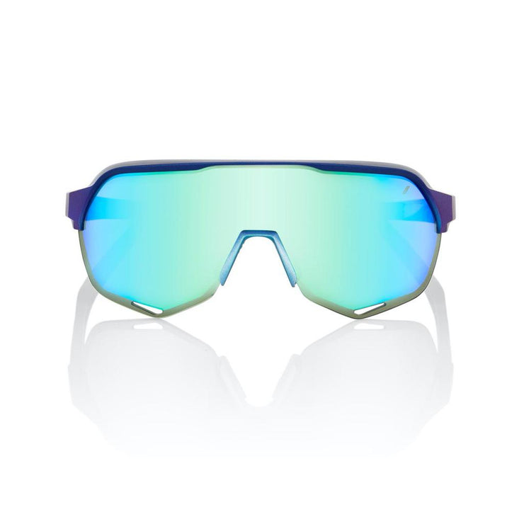 100% S2 - Matte Metallic Into the Fade - Blue Topaz Multilayer Mirror Lens