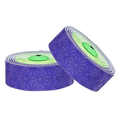 Supacaz SSK Handlebar Tape - Neon Green & Purple