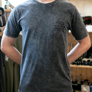 "GEAR Shop Brisbane ""The Tee"" - Stone Wash Black - Small"