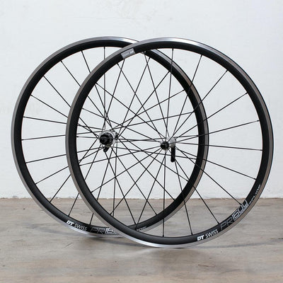DT Swiss PR1600 Spline32 Rimbrake Clincher Road Wheelset